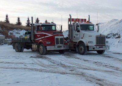 Equipment Haul Trucks