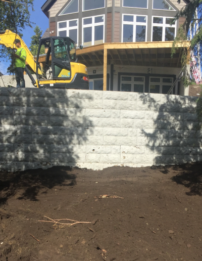 Retaining Wall Construction (3)
