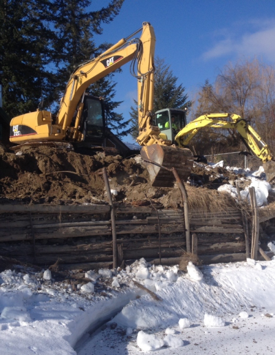 Retaining Wall Demo