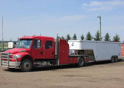 Service Truck and Trailer